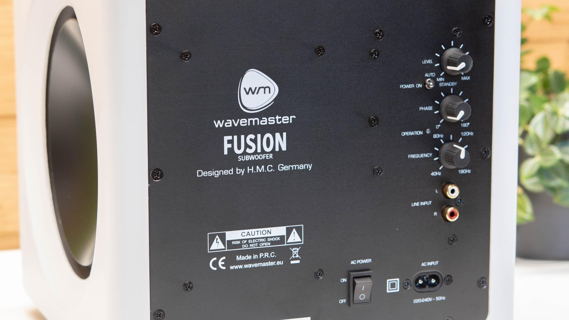 Der Wavemaster Fusion Subwoofer Im Test Die Perfekte