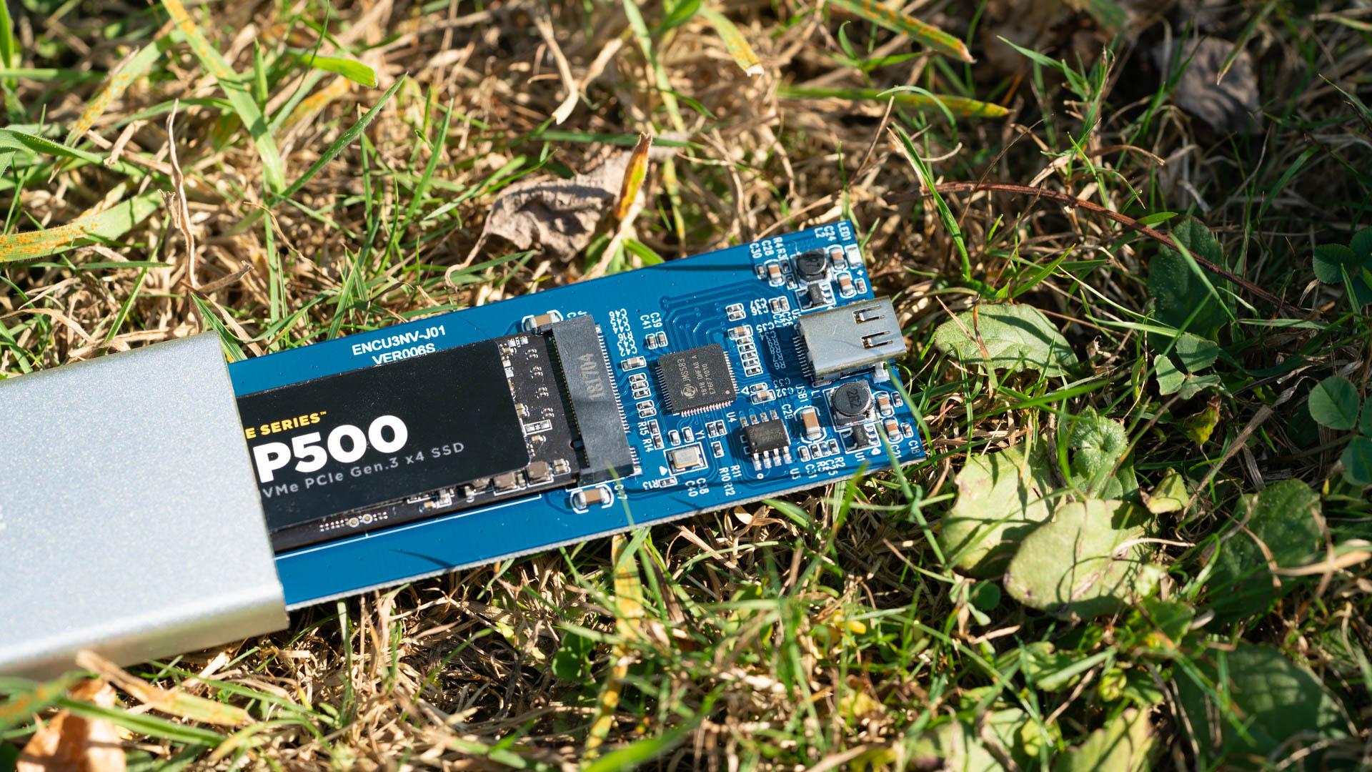 Das XT-XINTE NVMe PCIE USB3 1 SSD-Gehäuse im Test, endlich