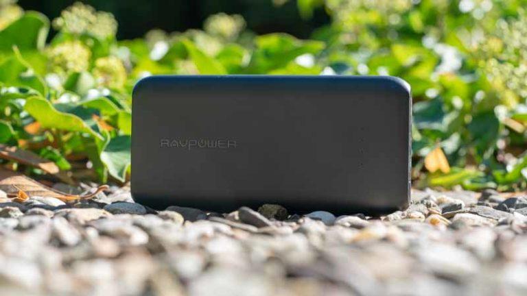 Die RAVPower RP-PB078 10000mAh Powerbank mit USB C im Test