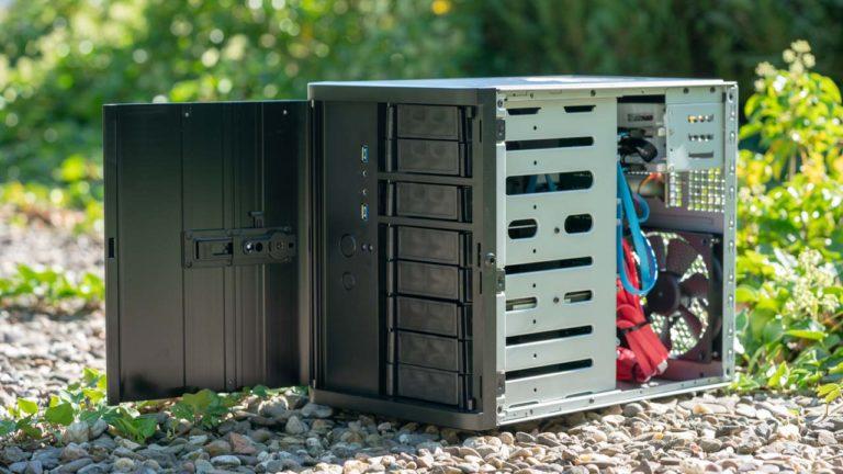 FreeNAS Build 2018, 2x 10Gbit LAN, ECC Speicher, Intel Xeon, NAS Gehäuse, Workstation Hardware so günstig wie möglich