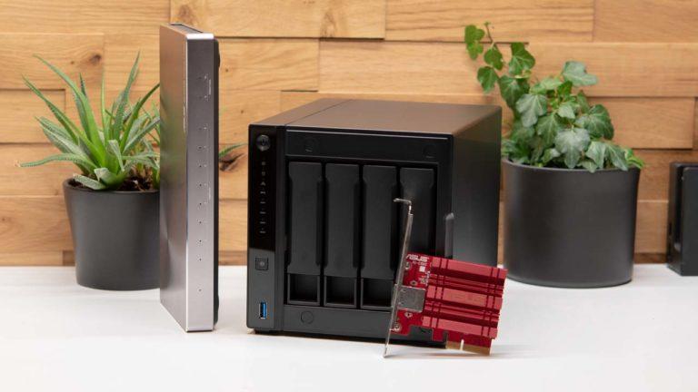 Das Asustor AS4004T im Test, das günstigste 10GBit NAS auf dem Markt!
