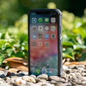 EasyAcc Akkuhülle für das iPhone X/Xs