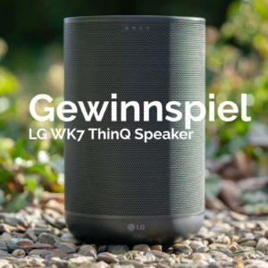Beendet! Gewinnspiel, LG WK7 ThinQ Speaker! (smarter Lautsprecher mit dem Google Assistent!)