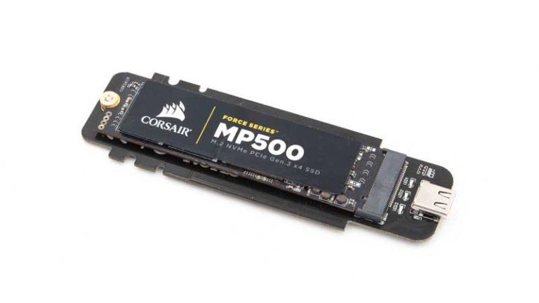 Das CHOETECH USB 3.1 Type-C auf M.2 NVMe SSD Gehäuse im Test