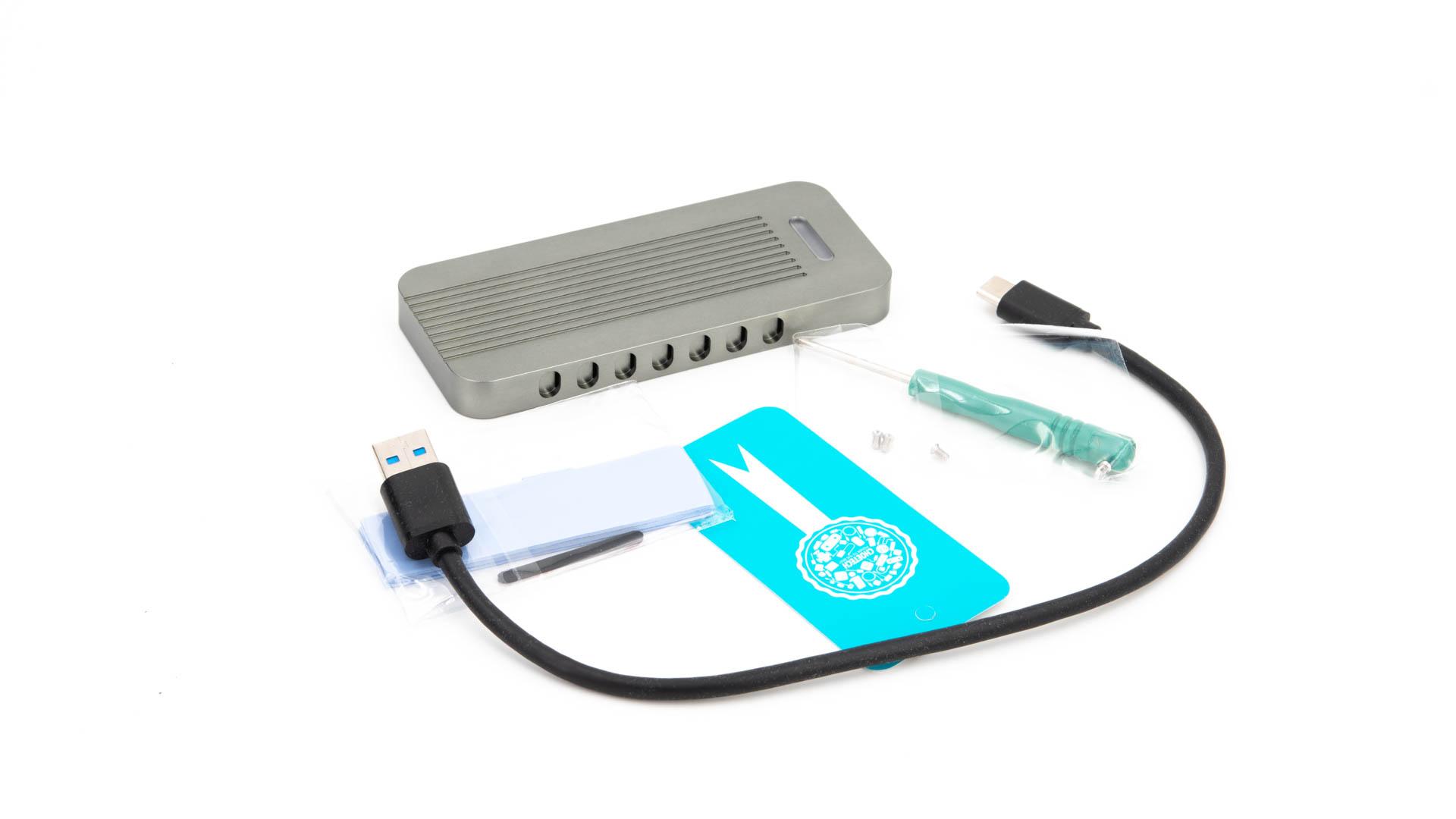 Das CHOETECH USB 3 1 Type-C auf M 2 NVMe SSD Gehäuse im Test