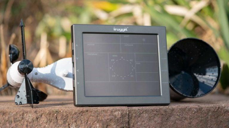 Die Froggit WH4000SE Wetterstation mit WLAN und Wunderground im Test