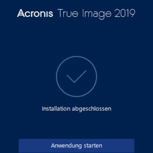 Acronis True Image 2019 im Test, das beste Backup-Tool?