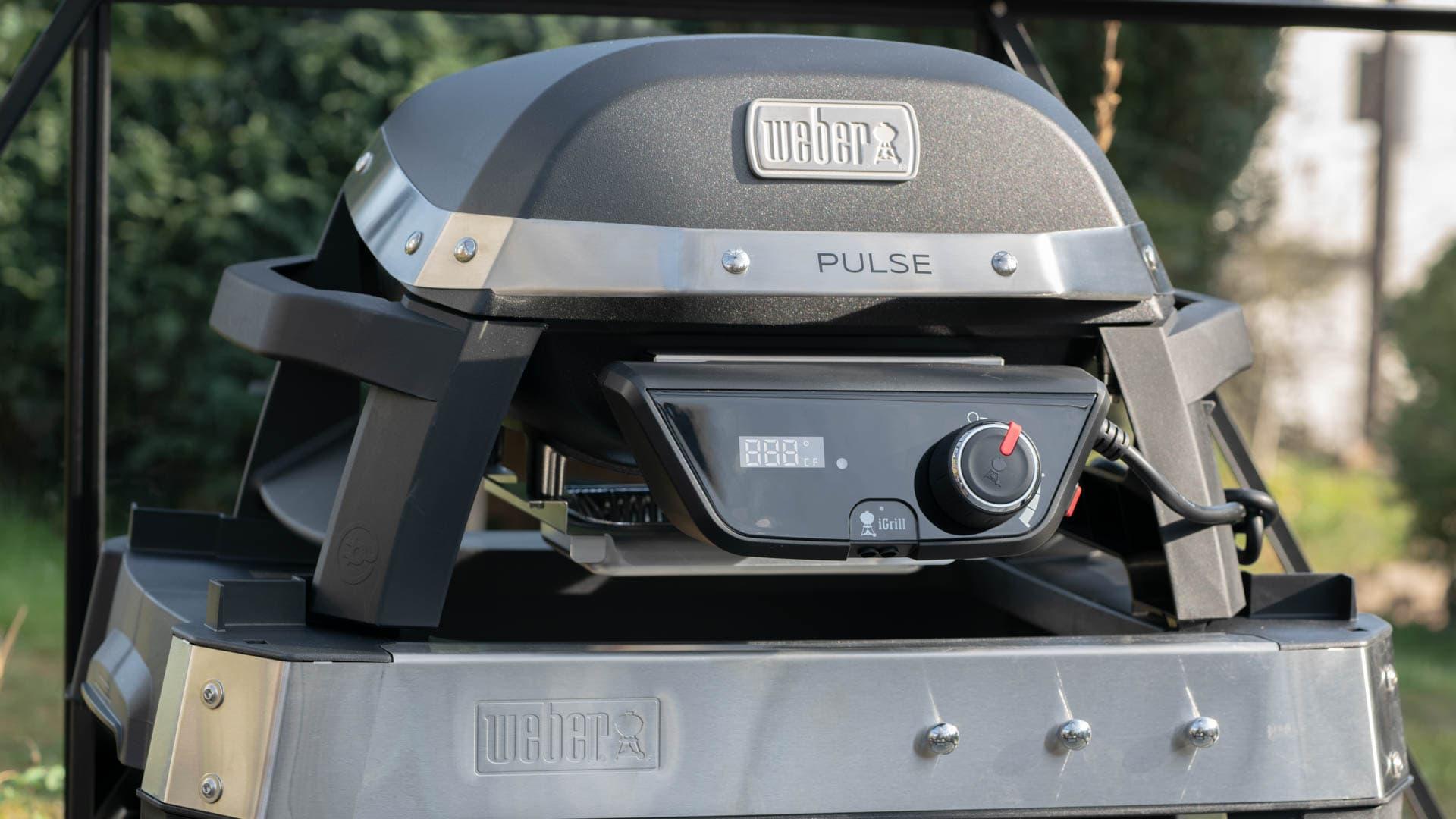 Weber Elektrogrill Xs : Der weber pulse im test der beste elektro grill auf dem