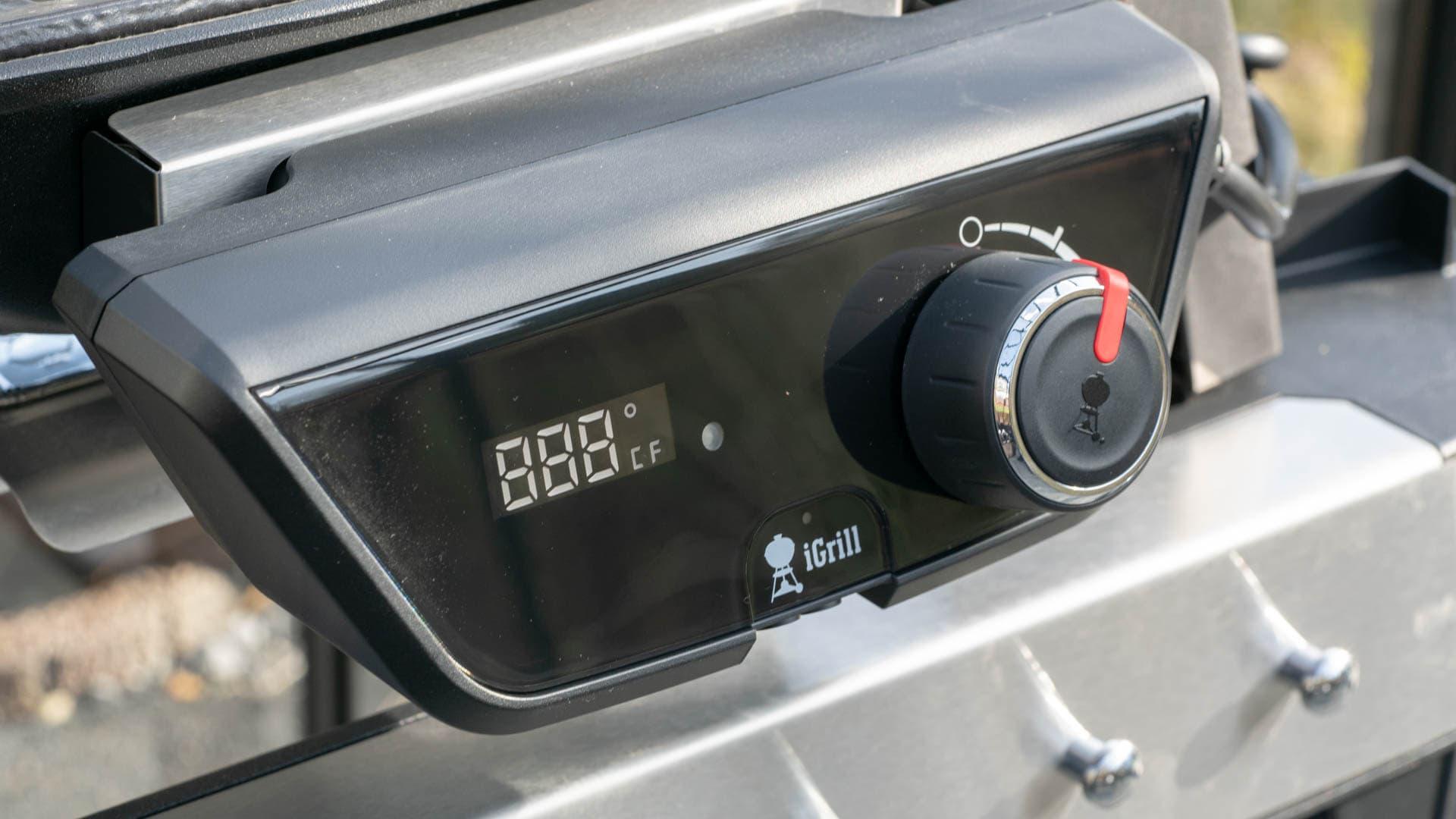 Weber Elektrogrill Temperatur Einstellen : Der weber pulse im test der beste elektro grill auf dem