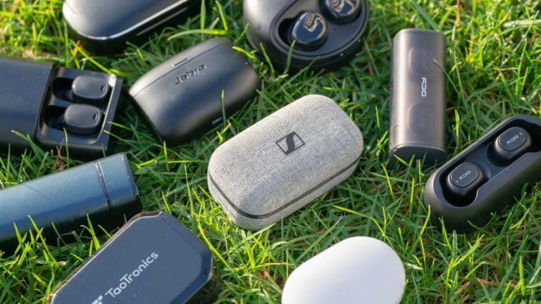 """Die besten """"true Wireless"""" bzw. echt kabellosen Bluetooth Ohrhörer, Vergleich, Übersicht und Bestenliste von techtest.org"""
