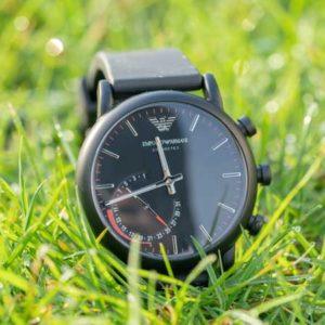 Eine Hybrid Smartwatch von Armani? Die Emporio Armani Connected Hybrid Smartwatch im Test