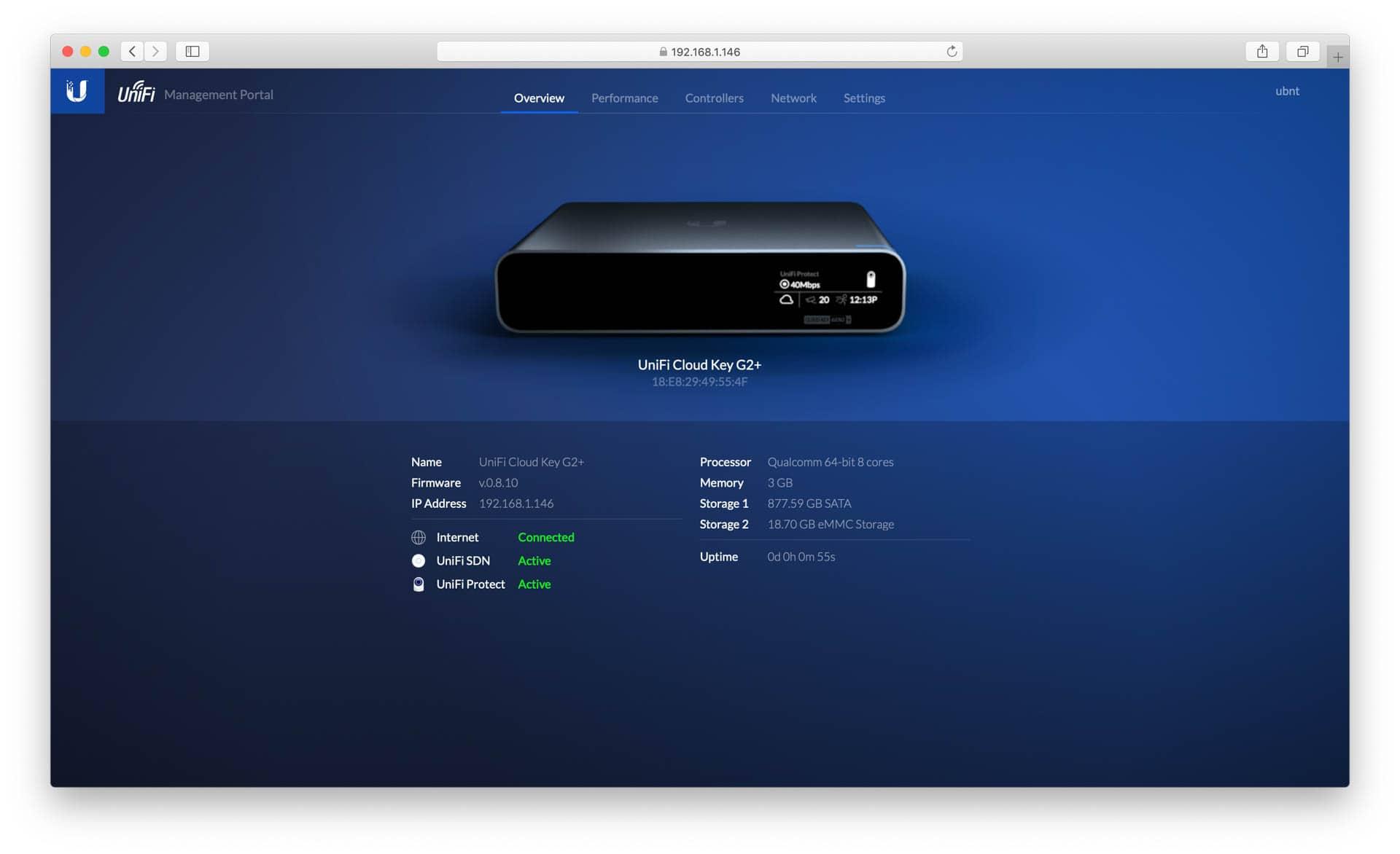 Der neue Ubiquiti UniFi Cloud Key Gen2 Plus im Test und was ist