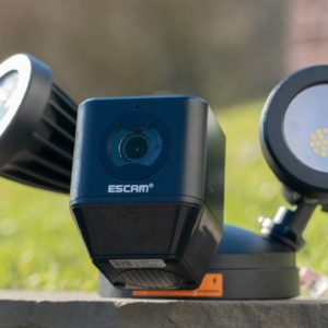 Die ESCAM Floodlight Camera im Test, die günstige alternative zur Netatmo Presence?