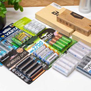 12x AA Akkus von Eneloop, Ikea, Amazon, ANSMANN,…. im Vergleich, welcher ist der beste AA Akku?