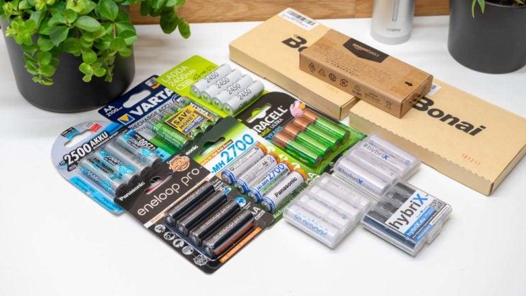 12x AA Akkus von Eneloop, Ikea, Amazon, ANSMANN,…. im Vergleich, welcher ist der beste AA Akku? UPDATE2!