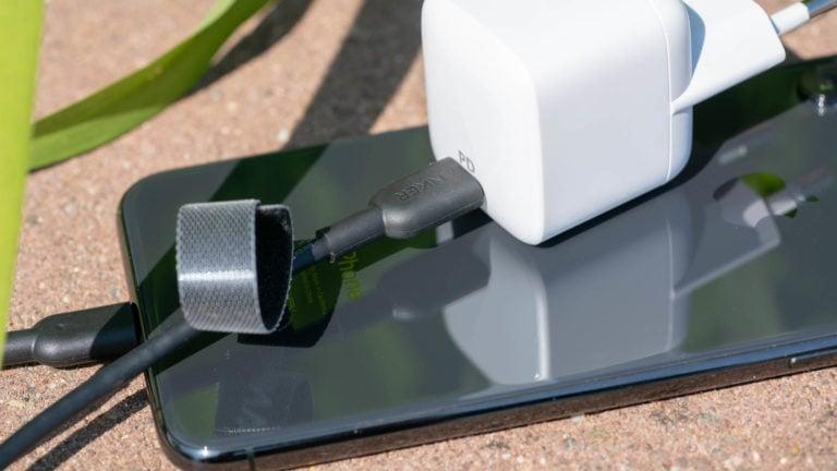 Das Anker Powerline II USB C auf Lightning Kabel, das erste 3. Anbieter iPhone Xs Schnellladekabel!