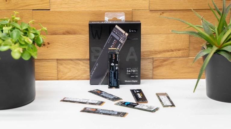 Western Digitals SSD für Gamer im Test, WD Black SN750