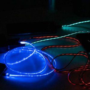 Wie gut sind USB-Ladekabel mit LEDs? 3 Kabel von Areson, Geabon, MKDGO im Vergleich!