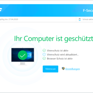 F-Secure TOTAL im Check! Internet Security + VPN + Passwortmanager