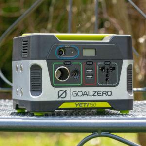 Die Goal Zero Yeti 150 Powerstation im Test, 168Wh POWER
