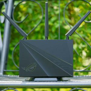 Der ASUS GT-AC2900 im Test, ASUS neuster Gaming WLAN Router (mit RGB LEDs)!