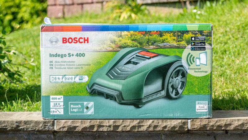 Der Bosch Indego S+ 400 Im Test 1
