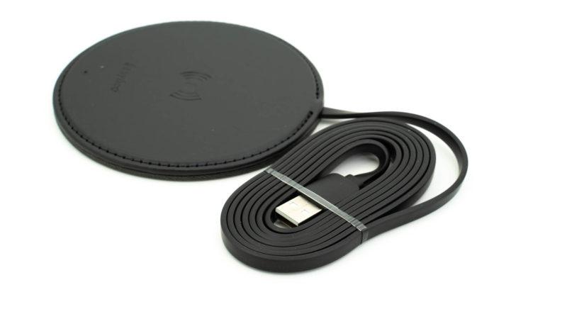 Der Easyacc Wireless Charger 10w Aus Handgearbeiteten Pu Leder Test 5