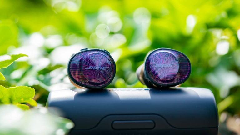 Die SoundSport Free von Bose im Test, starker Klang aber große Ture Wireless Ohrhörer!