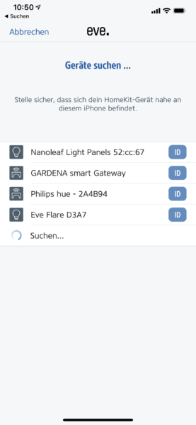 Eve Flare Im Test App (2)