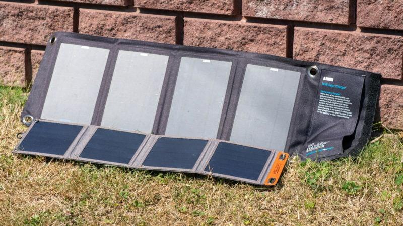 14w Usb Solar Ladegerät Von Choetech Im Test 14
