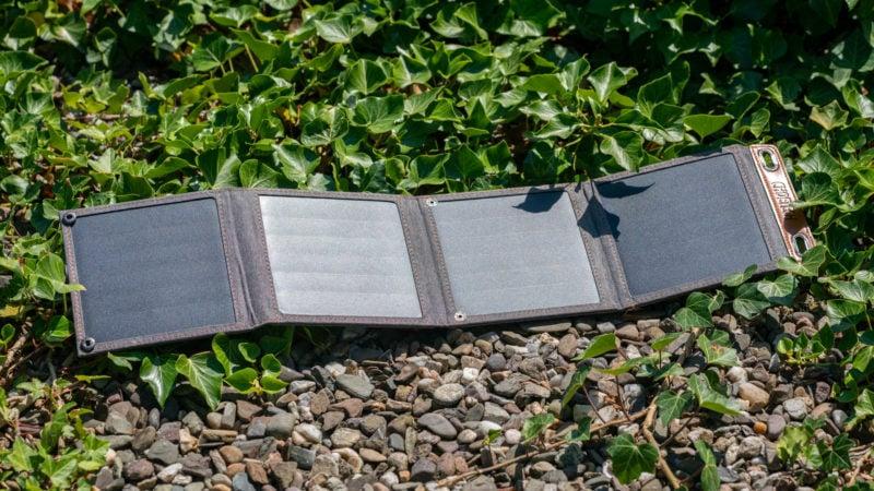 14w Usb Solar Ladegerät Von Choetech Im Test 7