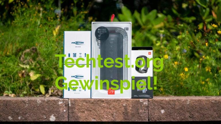 BEENDET! Gewinnspiel! 1x HAVIT Bluetooth Lautsprecher, 1x Xiaomi Fitnesstracker, 2x ANSMANN Home Station
