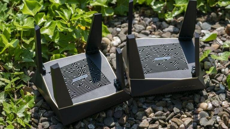 Das ASUS AiMesh AX6100 WiFi System im Test