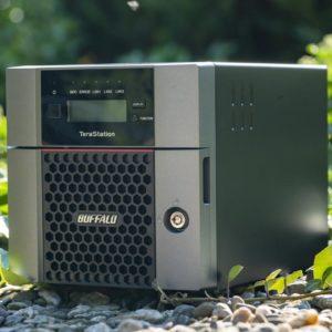 Test: Buffalo TeraStation 5210DN, das professionelle NAS für Minimalisten