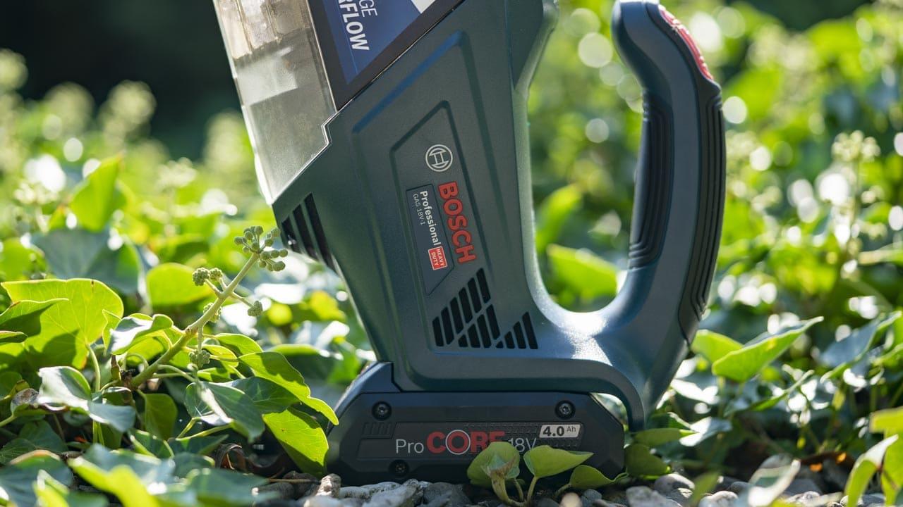 Bosch Professional Akku Handstaubsauger Gas 18v 1 Im Test 1
