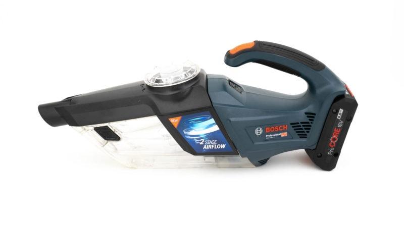 Bosch Professional Akku Handstaubsauger Gas 18v 1 Im Test 7