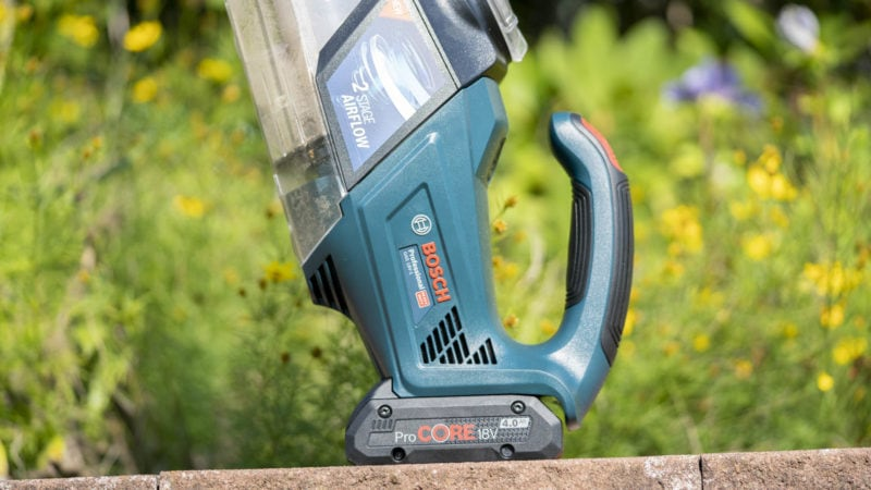 Bosch Professional Akku Handstaubsauger Gas 18v 1 Im Test 9
