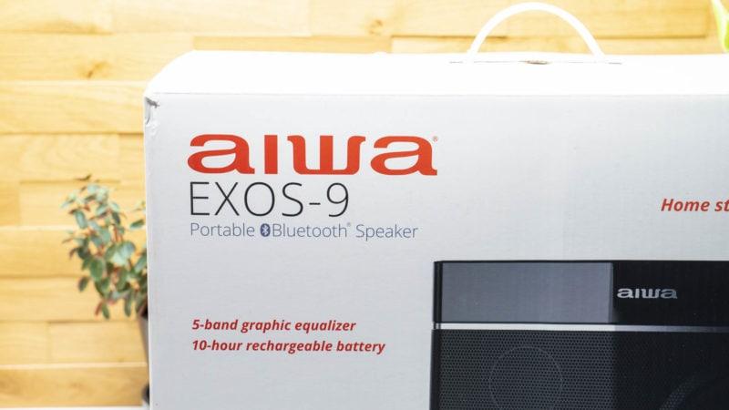 Gewinnspiel, Der Aiwa Exos 9 4