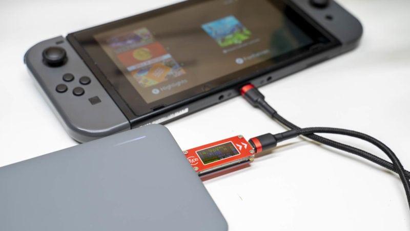 Nintendo Switch Und Das Aufladen 2