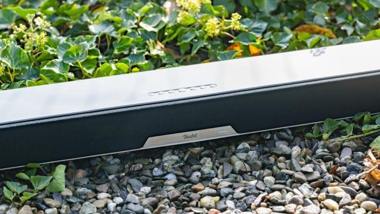 Die Teufel Cinebar Lux Soundbar im Test, super kompakt und super klangstark!