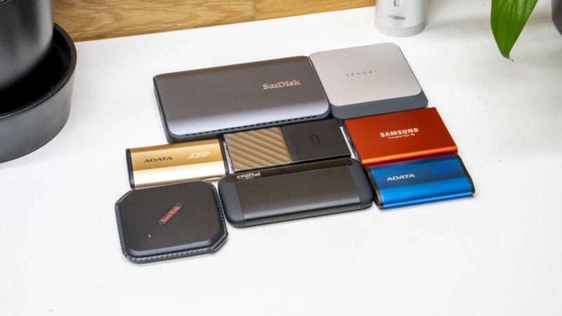 8x Externe Ssds Von Samsung, Adata, Wd, Crucial Und Co. Im Vergleich 25