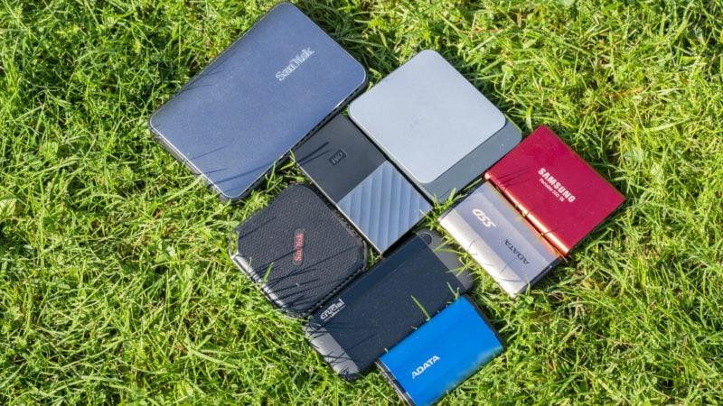 8x Externe Ssds Von Samsung, Adata, Wd, Crucial Und Co. Im Vergleich 4