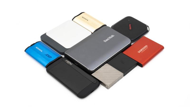 8x Externe Ssds Von Samsung, Adata, Wd, Crucial Und Co. Im Vergleich 9