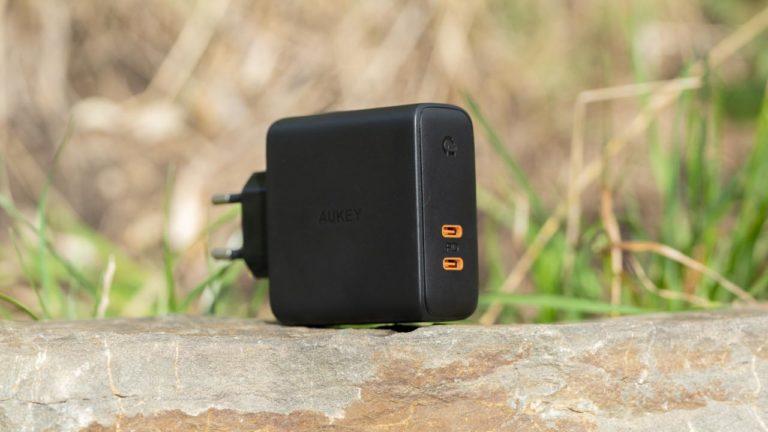 Test, das AUKEY PA-D5 USB C Ladegerät mit 60W UPDATE