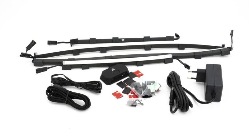 Ambilight Für Euren Pc! Corsair Icue Ls100 Smart Lighting Kit Im Test 1