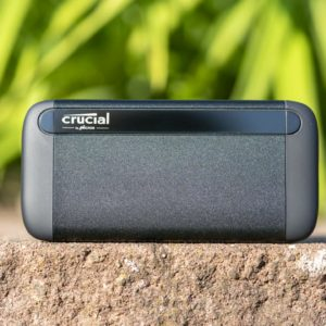 Die neue Crucial X8 externe SSD im Test, die schnellste auf dem Markt?