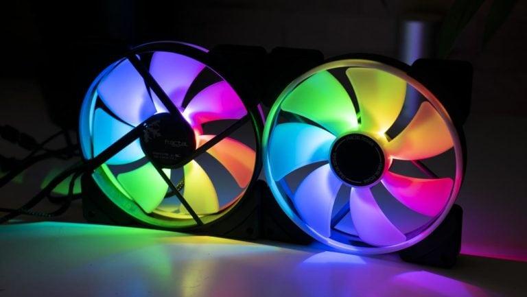 Die Fractal Design Prisma AL-14 im Test, gute RGB Lüfter?