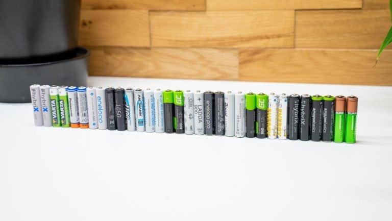 16x AAA Akkus im Vergleich von Eneloop, Ikea, ANSMANN, HEITECH, Duracell usw.