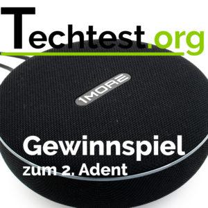 2. Advent Gewinnspiel, der 1More Stylish BT Speaker