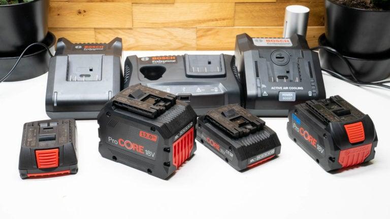 Welches ist das beste Bosch Professional Ladegerät und wie schnell laden die Akkus?